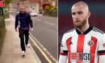 Footballer, Oli McBurnie is filmed 'punching and kicking a man in shocking altercation (video)
