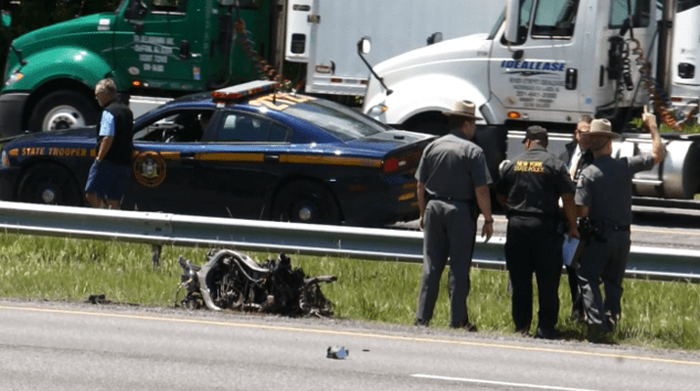 Thruway accident marks 6th motorcycle fatality in Capital