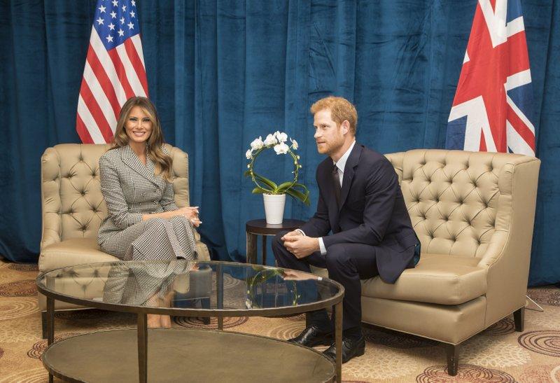 Melania Trump and Prince Harry_635606