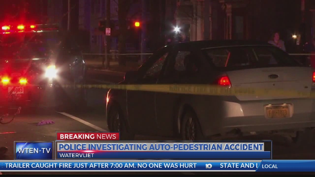 Police investigating auto-pedestrian accident in Watervliet
