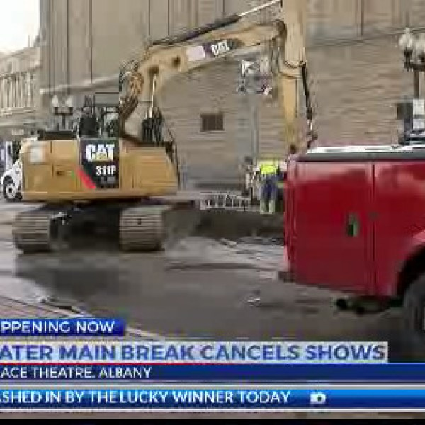Palace Theatre cancellations due to water main break