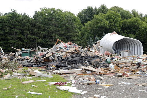 Wisconsin home explodes, killing man who was likely asleep | NEWS10 ABC