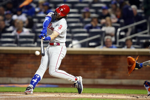 Harper hand X-rays negative, Phils star still gets day off