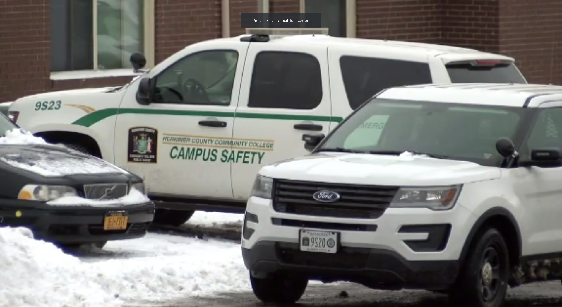 herkimer college security vehicles
