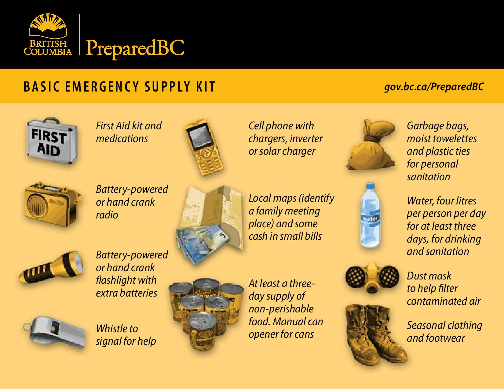 What Should You Include In An Emergency Kit In Case Of A Disaster