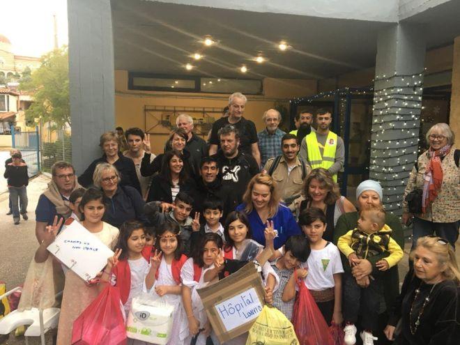 Μεγαλειώδης κίνηση: Κούρδοι πρόσφυγες δώρισαν ιατρικό υλικό στο Κέντρο Υγείας Λαυρίου