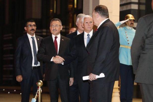 Τουρκία: Άφιξη Πενς - Πομπέο