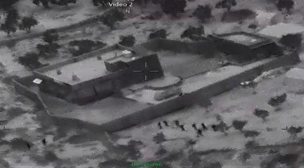 Στιγμιότυπο από την επιχείρηση εξουδετέρωσης του Baghdadi