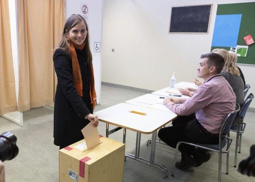 Η πρωθυπουργός της Ισλανδίας Κατρίν Γιάκομπσντοτιρ