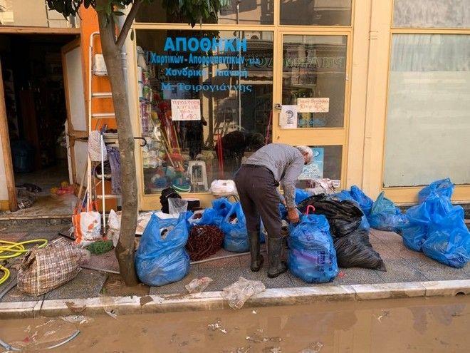 Πληγές μετρούν οι καταστηματάρχες στην Καρδίτσα