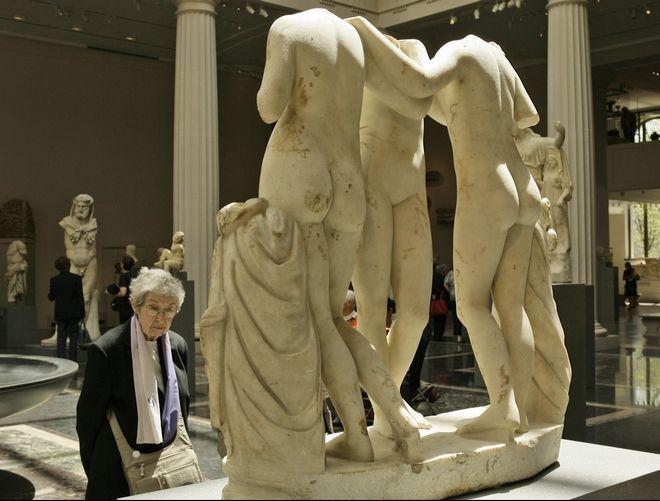 Metropolitan Museum of Art's new Greek and Roman galleries, New York