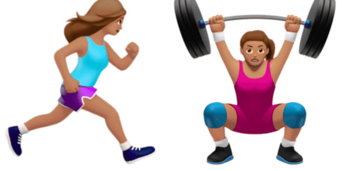 Apple Emoji Finally Acknowledge That Women Too Work Out