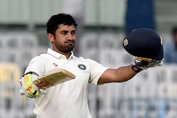 India v England: Karun Nair makes 303 runs in fifth Test in Chennai