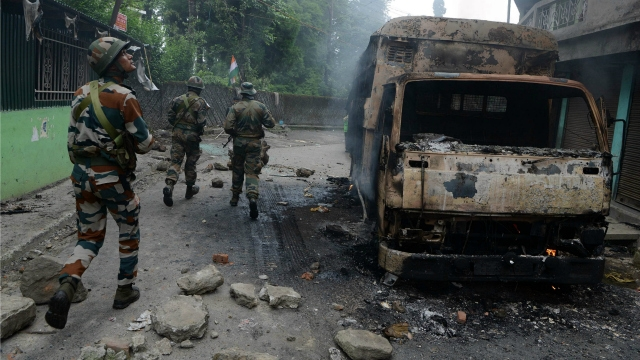 Darjeeling unrest: One civilian killed, 35 securitymen injured in clashes