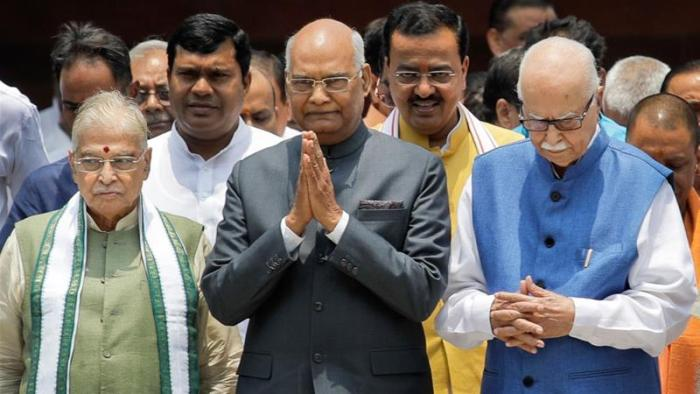 India's President Ram Nath Kovind takes oath