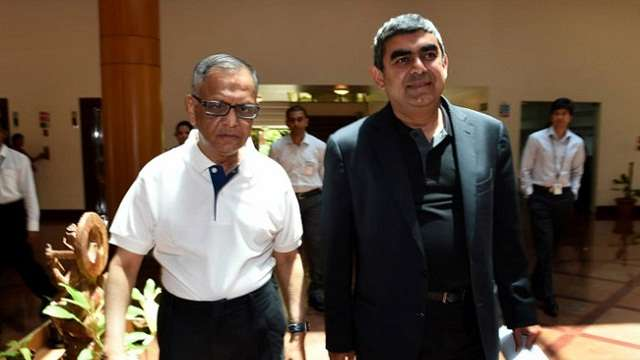 Narayana Murthy responsible for Vishal Sikka's resignation:Infy