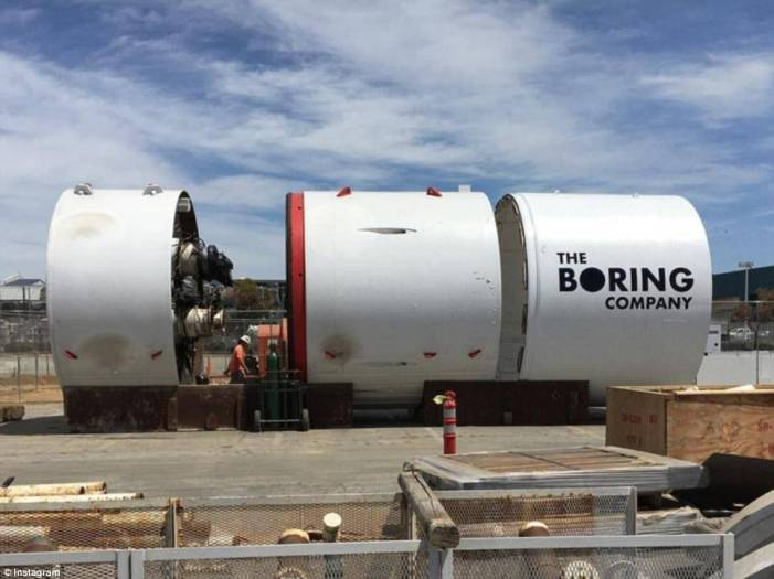 Elon musk promises $1 tunnel rides under LA at 150MPH
