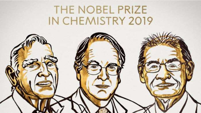 Three scientists awarded 2019 Nobel Prize in Chemistry for development of lithium-ion batteries