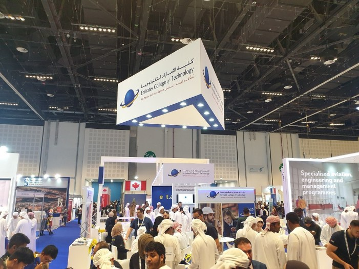 ECT makes its mark at Najah Exhibition 2019