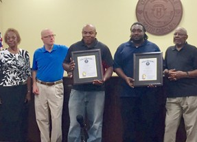 Hartsville finalizes budget, honors local heroes