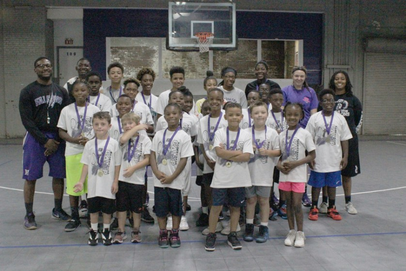 Camp teaches life, basketball skills