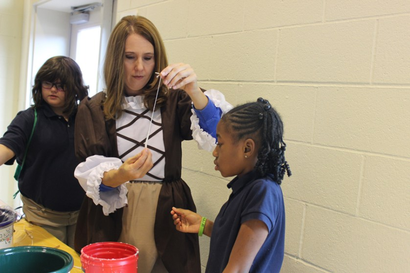 Colonial Day at Brockington Elementary Magnet School
