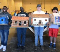 Darlington High's West wins model home-building contest at Darlington County Institute of Technology