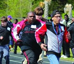 Special Olympics Day at Darlington High School