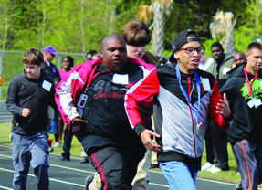 Special Olympics Day at Darlington High School