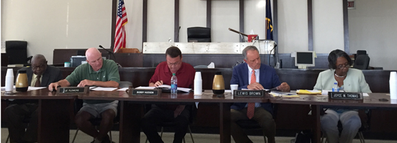 County Council approves pay raise, passed budget