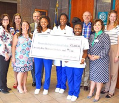 FDTC receives $75,000 gift from McLeod Health