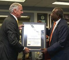 Darlington native receives South Carolina's highest honor