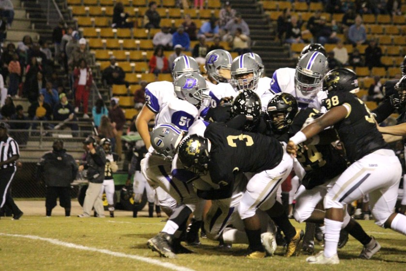Darlington implodes in second half  and loses to Bulldogs on the road
