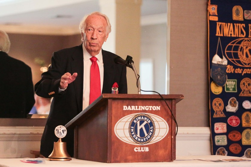 Veteran pilot shares history at Kiwanis luncheon