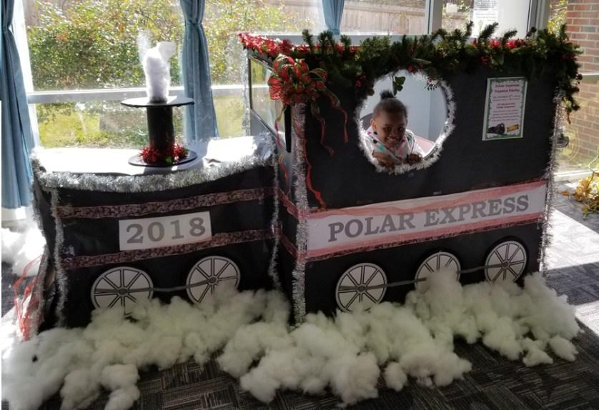 Library Plans Polar Express Pajama Party