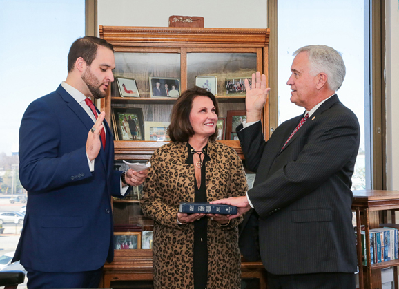 Lawson sworn in for a seventh term as Darlington County Probate Judge