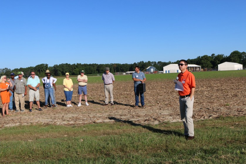 Clemson field day teaches about soil health, pest control