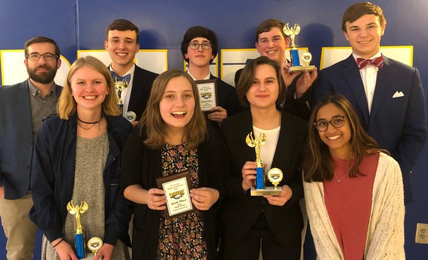 Trinity-Byrnes Collegiate School's Debate Team wins