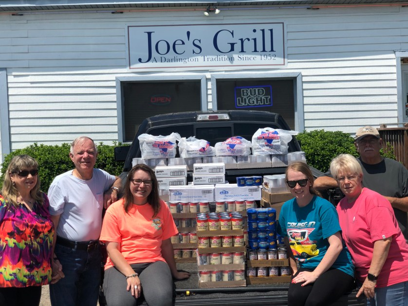 Joe's Grill holds fundraiser, collects food for The Lord Cares Ministry