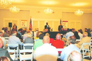 'Convinced in the goodness of our nation': Sen. Scott speaks to Hartsville audience
