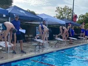 Trinity Titans Girls Swim Team takes First Place