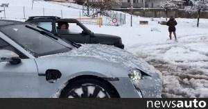 Η Porsche Taycan ανταγωνίζεται το Fiat Panda 4 × 4 (+ βίντεο)