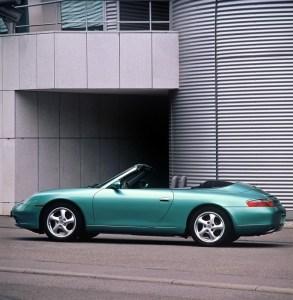 1999, 911 Carrera Cabriolet, Typ 996, 3,4 Liter, Generationen