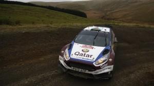 WRC GB- Evans