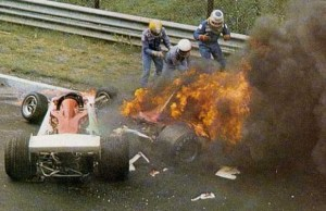 Rush_Niki Lauda crash scene