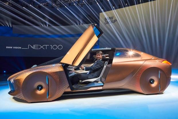 BMW Vision Next 100 concept -2
