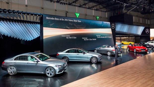 Mercedes-Benz auf dem Internationalen Automobil-Salon Genf 2016 Mercedes-Benz at the Geneva International Auto Show 2016