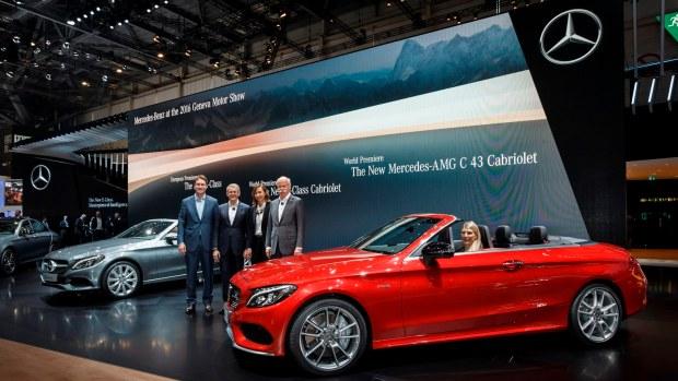 Mercedes-Benz auf dem Internationalen Automobil-Salon Genf 2016
