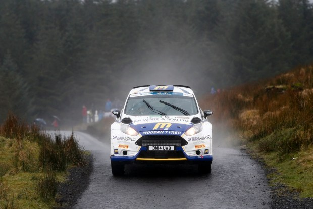 06 FISHER Alastair NOBLE Gordon FORD FIESTA R5 ACTIONduring the 2016 European Rally Championship ERC Circuit of Ireland rally,  from April 7 to 9, at Belfast, Ireland - Photo Alexandre Guillaumot / DPPI