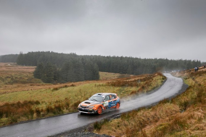24 CHUCHLA Wojciech DYMURSKI Daniel SUBARU IMPREZA STI ACTIONduring the 2016 European Rally Championship ERC Circuit of Ireland rally,  from April 7 to 9, at Belfast, Ireland - Photo Alexandre Guillaumot / DPPI